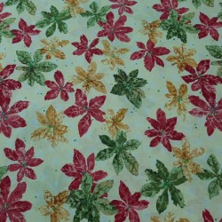 Tela patchwork flores 2369