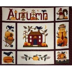 Panel de patchwork otoño 2271