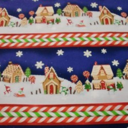 Tela cenefas Navidad 1510