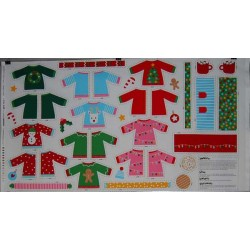 Panel patchwork ropa...