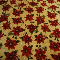 Tela Navidad patchwork 9642