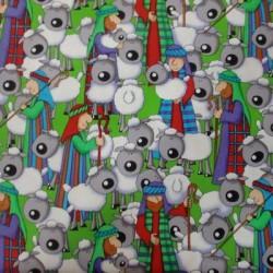 Tela Navidad patchwork 207069