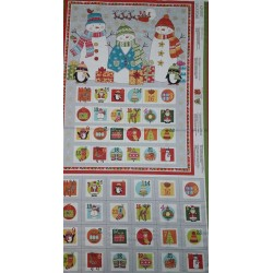Panell patchwork calendari...