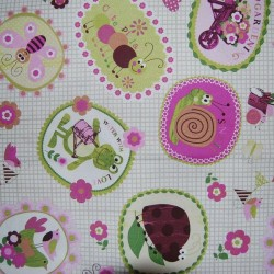 Tela patchwork infantil MILPAT