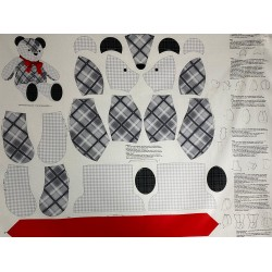 Panel patchwork oso 26616