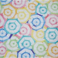 Tela patchwork paraguas 1454