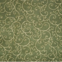 Tela patchwork verde 23641