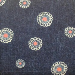 Tela patchwork flores 5989