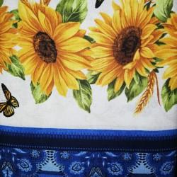 Cenefa patchwork girasol 10212