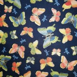 Tela japonesa mariposas 2334