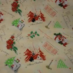 Tela Navidad patchwork 18717