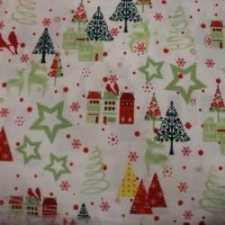 Tela Navidad patchwork 1117