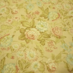 Tela patchwork flores 3820