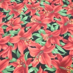 Tela patchwork  flores LAVI