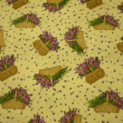 Tela patchwork  flores...
