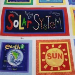 Panel patchwork Planetas 182