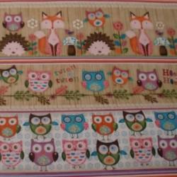 Cenefa patchwork buhos 24656