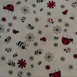 Tela patchwork mariquitas 151
