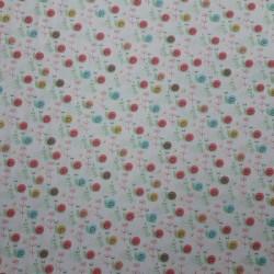 Tela patchwork caracoles 8944
