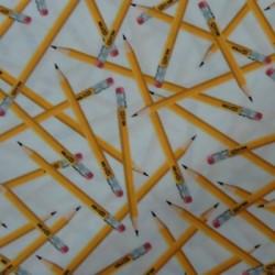 Tela patchwork lápices 39021