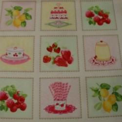 Panel patchwork pasteles  9463