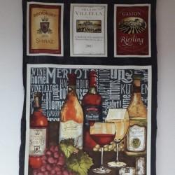 Panel botellas vino 1130