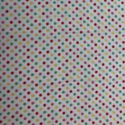 Tela patchwork topos 4505