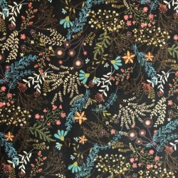 Tela patchwork flores 2457